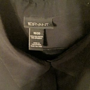 Lane Bryant Tops - ** 2 FOR $30 ** Lane Bryant Black Button Up Blouse